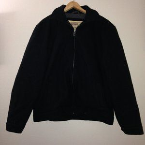 Old Navy Wool Coat Men's L Bomber / Peacoat Style